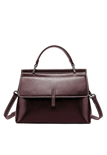 Twenty Eight Shoes brown VANSA Vintage Burnished Leather Hand Bag VBW-Hb2399 DC8BCAC09F808AGS_1