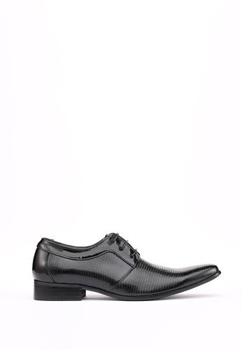 Kings Collection 黑色 比安科漆皮德比鞋 7337FSH7CA1FEDGS_1