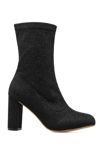 Twenty Eight Shoes black Skinny Stocking Boots 2829-1 TW446SH2UVIOHK_1
