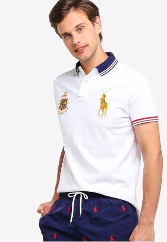 845c28ab Polo Ralph Lauren white Short Sleeve Basic Mesh Polo Shirt  6C782AAB495551GS_1