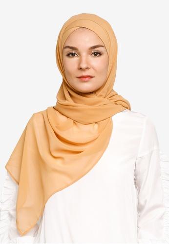 Bokitta orange Mango FreeStyle Hijab C3EE7AAD8F6821GS_1