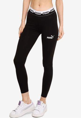 PUMA black Amplified Women's Leggings BF009AABA30BA9GS_1