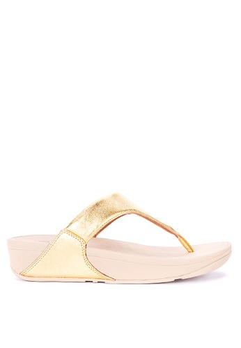 3294e00536f4 Shop Fitflop Lulu Leather Toe Post Sandals Online on ZALORA Philippines