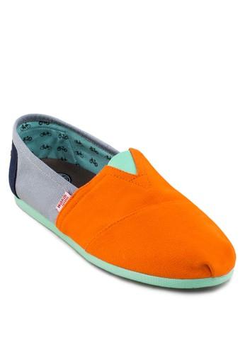 Eneresprit童裝門市ugi 撞色拼接懶人鞋, 鞋, 鞋