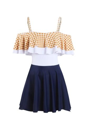 ZITIQUE multi Women's Cute One-piece Swimsuit - Multi 6FC42USA40E81AGS_1