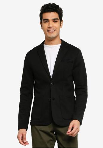 Jack & Jones black Tailored Blazer CAF1BAA8E01D2BGS_1