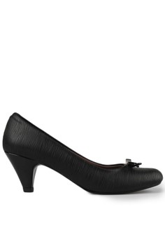 Image of Prima Classe Patent Leather Heels Black