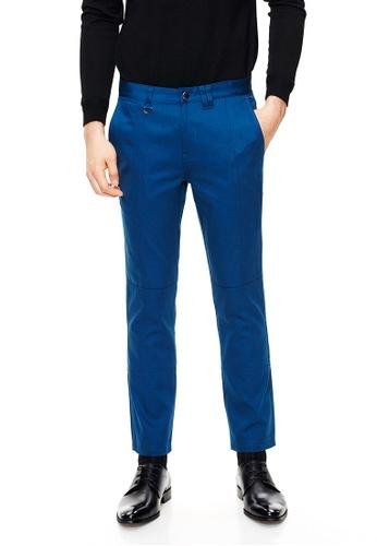 Life8 blue Formal Designer Trouser-12011-Deep Blue LI283AA0GOP9SG_1