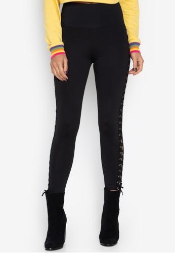 6a60c436386e4 Y.R.Y.S. Your Rules Your Style black Lace Me Up Leggings A79DDAA87E7319GS_1