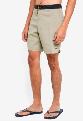 Billabong 褐色 抽繩海灘褲 90520AAB79440BGS_1