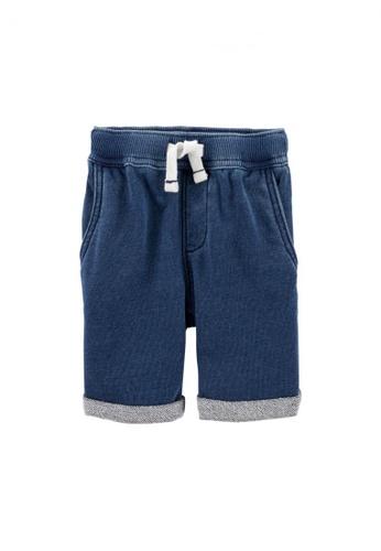 Carter's blue CARTER'S Boy Blue Pull On Short D2F7AKA83B9A78GS_1