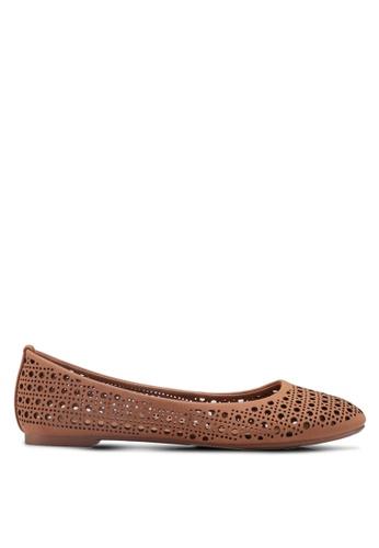 Rubi brown Britt Ballet Flats E9B16SH0AC6067GS_1
