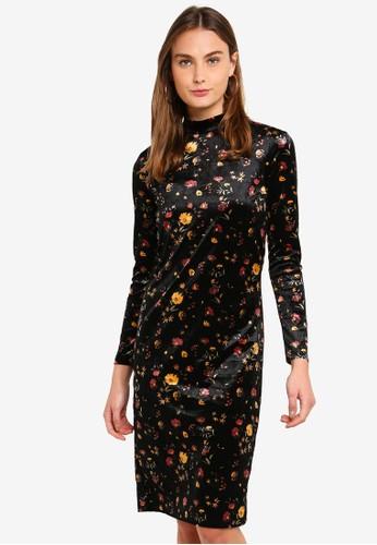 JACQUELINE DE YONG black Vella Dress B3C52AA0D04C61GS_1