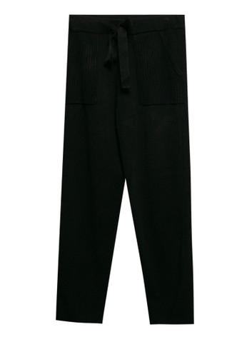 Noir Sur Blanc black Ladies Pant 2FB4DAAD4FFBCAGS_1