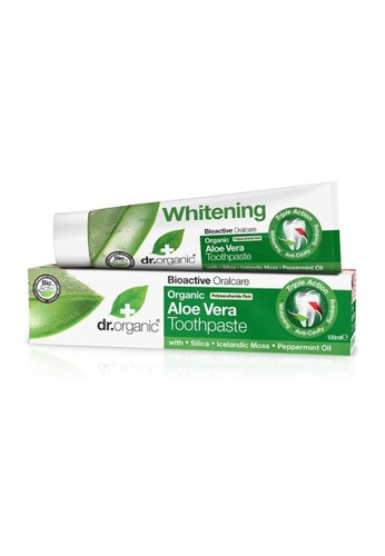 Holland & Barrett Dr Organic Aloe Vera Toothpaste 100ml 62C1BESA374EDEGS_1