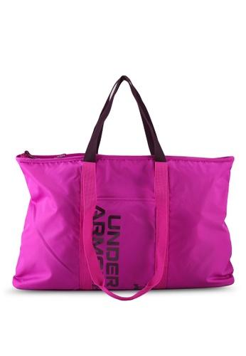 Under Armour pink UA Women's Metallic Favorite Tote Bag 2.0 739A4AC43FB1C2GS_1