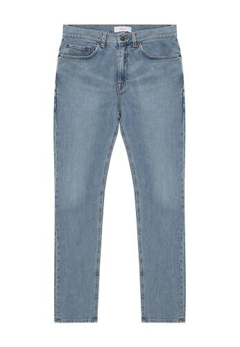 CERRUTI 1881 blue Light Wash Denim Jeans 8CEF8AAE52BCE9GS_1