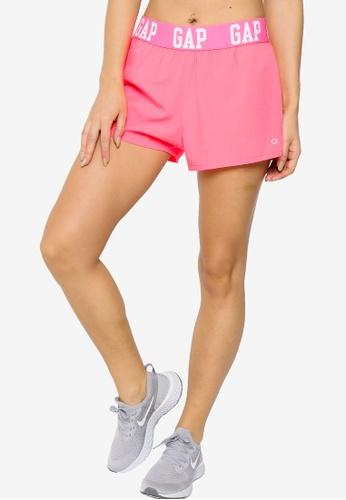 GAP pink Fashion Shorts 8FBFCAA173E38DGS_1