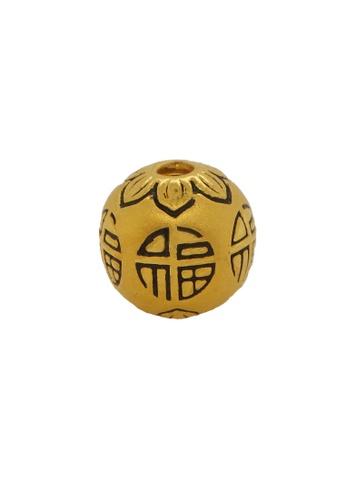 LITZ gold LITZ 999 (24K) Gold Bead Charm EPC0684 9AF8CAC6570AD2GS_1