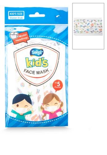 Sensi multi Kids Mask Headloop Isi 5 C611BES25E918EGS_1