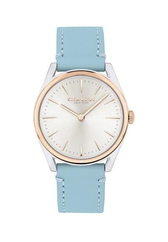 Coach silver Coach Preston Silver White Women's Watch (14503560) 4B5D5AC1011FF1GS_1