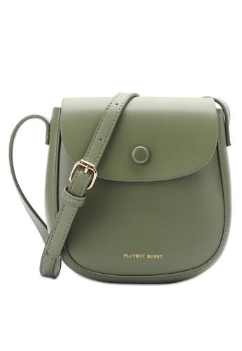 PLAYBOY BUNNY green Brand Sling Bag 15376ACA3F8D00GS_1