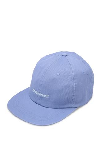 Cotton On blue 6 Panel Lad Hat CO372AC0S6CTMY_1
