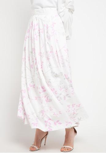 Aira Muslim Butik white Amoraa Skirt 15135AA8BFAF1EGS_1