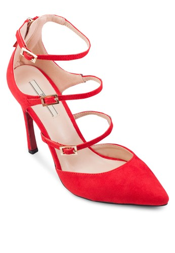 尖頭多esprit taiwan帶高跟鞋, 女鞋, 厚底高跟鞋