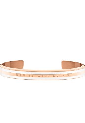 Daniel Wellington gold Classic Slim Bracelet Satin White Small F9B33AC9F16D75GS_1