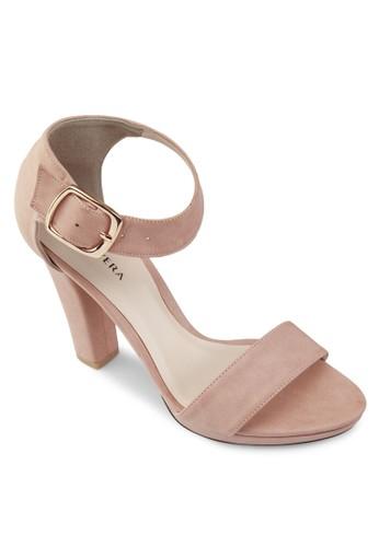 Bondie 扣環高跟涼鞋, esprit 澳門女鞋, 清新俏皮
