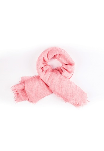 Drum pink Casual Scarf- Pink DR425AC0S34TMY_1