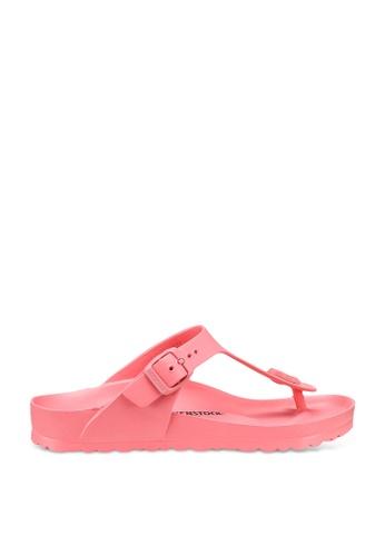BIRKENSTOCK pink Gizeh EVA Sandals B05A4SH29ED465GS_1
