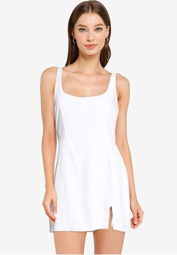 Abercrombie & Fitch white Boytank Slip Short Dress 10851AAADEE5D2GS_1