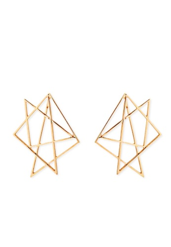 A-Excellence gold Star Earring 86C99ACB42751AGS_1