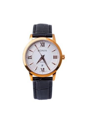 BONIA black and silver Jam Tangan Bonia Rosso Jam Tangan Pria BR166-3513 Original BE9C6AC203A179GS_1