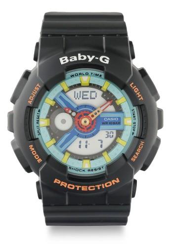 Baby-G black Women Analog Watches Ba-110Nr-1Adr 4C7B5AC8BAEDFCGS_1