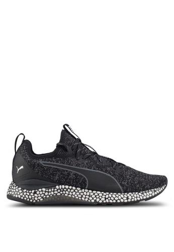 Puma black Hybrid Runner Shoes 46BD5SHA7B17EEGS_1