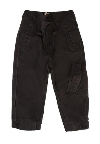 FOX Kids & Baby grey Baby Boy Utility Pants 1BB09KAED77E78GS_1