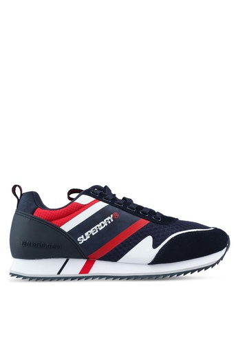 Superdry navy Fero Runners C390ASH4A6EDE3GS_1
