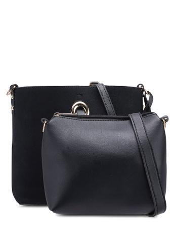 Berrybenka black Elsha Decca Shoulder Bag 18179AC0EE50F7GS_1