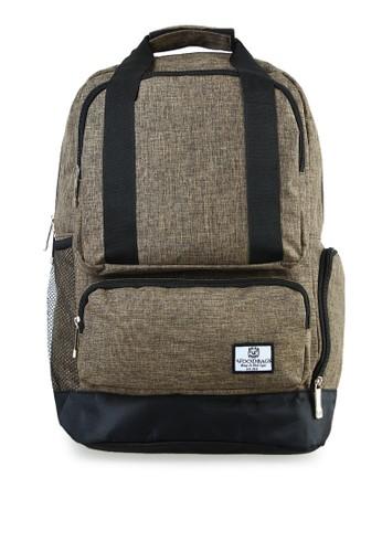 Woodbags brown Woodbags Backpack Animo Brown - Water Proof 4FE95AC3C53630GS_1