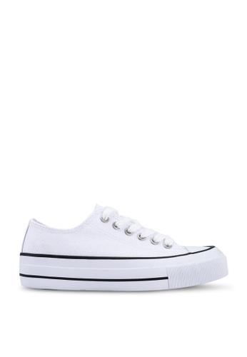 Rubi 白色 Billie Retro Low Rise Sneakers 85121SH9C116C9GS_1