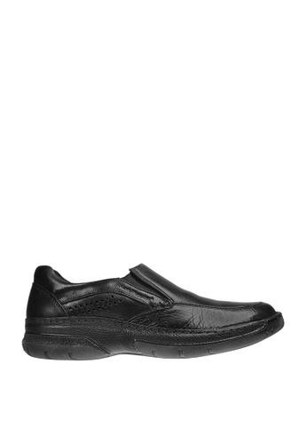 Hush Puppies black Marauder Casual Shoes HU326SH0J3XAPH_1