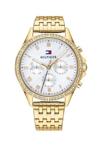 Tommy Hilfiger silver Tommy Hilfiger Silver White Women's Watch (1782142) 51E49AC4980029GS_1