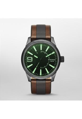 Rasp工業風腕錶 DZ17zalora鞋65, 錶類, 時尚型