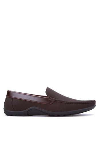 Itti brown Men's Formal Shoes IT425SH98GCVPH_1