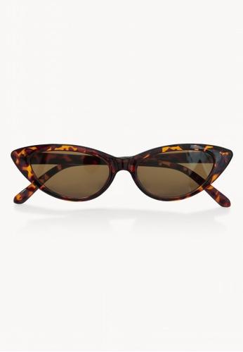 37e5b4e7e1 Pomelo brown Classic Cat Eye Sunglasses - Brown 21997GL0481B4FGS 1
