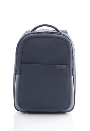 American Tourister navy American Tourister Essex 2017 Backpack 02 (Navy) AM582AC0SGFKMY_1