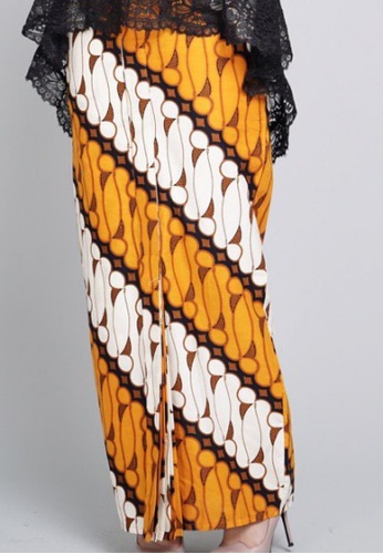 ROSSA COLLECTIONS black and white and brown CLARISSA SERIES in Yellow for Lady 60A0FAAE0EE96BGS_1